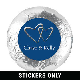 "Personalized Wedding Reception Favors 1.25"" Stickers (48 Stickers)"