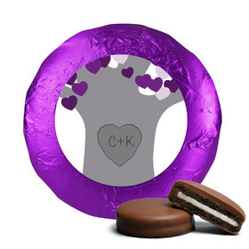 Wedding Tree of Love Milk Chocolate Covered Oreo Cookies (24 Pack)