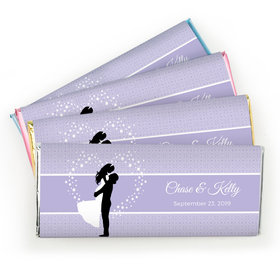 Personalized Wedding Reception Favors Chocolate Bar & Wrapper