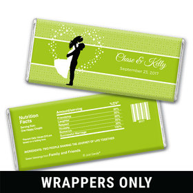To Have and Hold Personalized Chocolate Bar Wrappers
