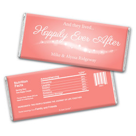 Fairytale Ending Personalized Candy Bar - Wrapper Only