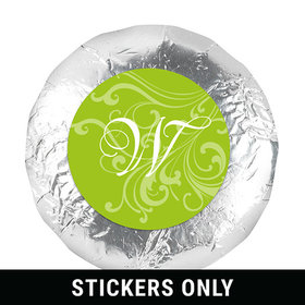 "Wedding Favor 1.25"" Sticker Filigree (48 Stickers)"