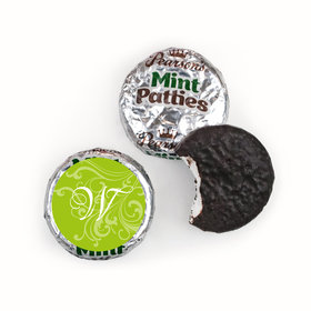 Wedding Favor Personalized Pearson's Mint Patties Filigree