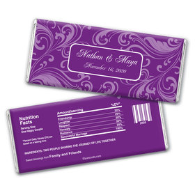 Opulent Day Personalized Candy Bar - Wrapper Only