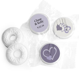 Obsession Personalized Wedding LIFE SAVERS Mints Assembled