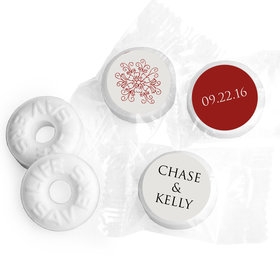 Sentimental Personalized Wedding LIFE SAVERS Mints Assembled