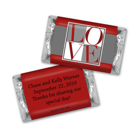 Box of Love Personalized Miniature Wrappers