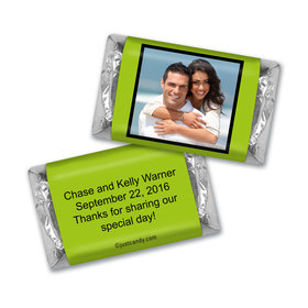Wedding Favor Personalized HERSHEY'S MINIATURES Photo & Message