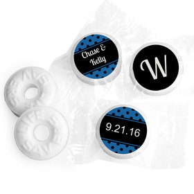 Classic Personalized Wedding LIFE SAVERS Mints Assembled
