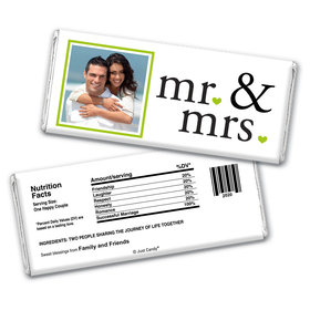 Their Introduction Personalized Candy Bar - Wrapper Only