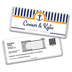 Greatest Treasure Personalized Chocolate Bar Wrappers