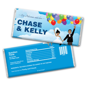 Soaring Adventure Personalized Candy Bar - Wrapper Only