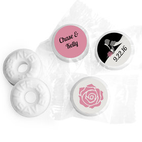 Newlywed Personalized Wedding LIFE SAVERS Mints Assembled