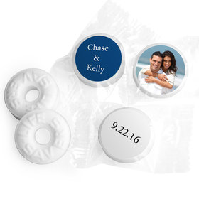 Add Your Photo Personalized Wedding LIFE SAVERS Mints Assembled