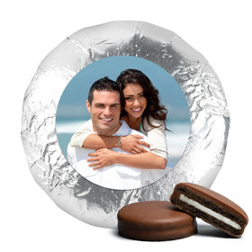 Wedding Favor Chocolate Covered Oreos Full Photo (24 Pack)