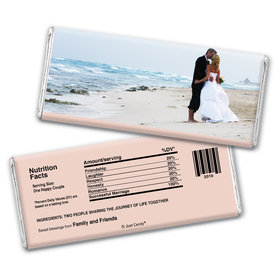 Wedding Favor Personalized Chocolate Bar Full Photo