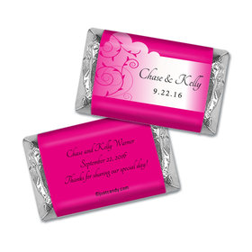 Satin Gown Personalized Miniature Wrappers