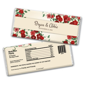 Boho Glam Personalized Candy Bar - Wrapper Only
