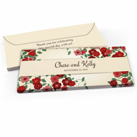 Deluxe Personalized Boho Wedding Flowers Wedding Candy Bar Favor Box