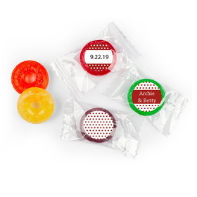 At Last Personalized Wedding LIFE SAVERS 5 Flavor Hard Candy Assembled