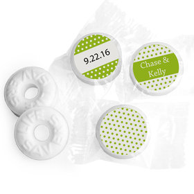 At Last Personalized Wedding LIFE SAVERS Mints Assembled