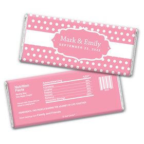 To Have & Hold Personalized Candy Bar - Wrapper Only