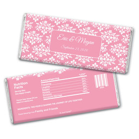 Formal Affair Personalized Candy Bar - Wrapper Only