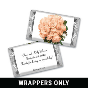 Forever Floral Personalized Miniature Wrappers