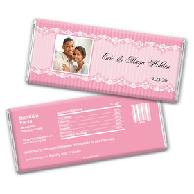 Classic Devotion Personalized Candy Bar - Wrapper Only