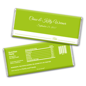 Wedding Favor Personalized Chocolate Bar