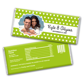 Together Forever Personalized Candy Bar - Wrapper Only