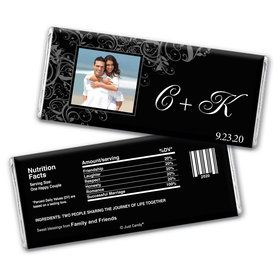 Grand Romance Personalized Candy Bar - Wrapper Only