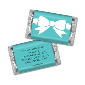 Garters and Bows Personalized Miniature Wrappers