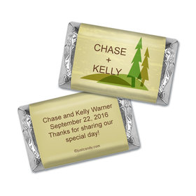 Rustic Forest Personalized Miniature Wrappers