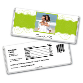 Modern Taste Personalized Candy Bar - Wrapper Only