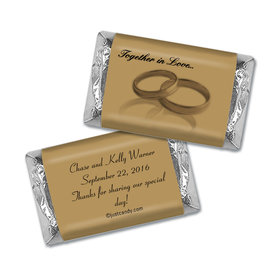 Together In Love Personalized Miniature Wrappers