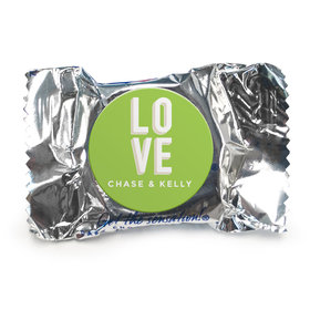 Personalized Wedding Bold Love Peppermint Patties