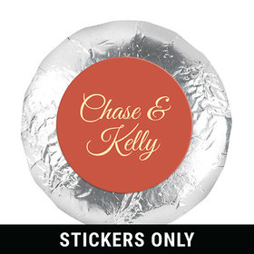 """Personalized Wedding Paris in the Fall 1.25"""" Sticker (48 Stickers)"""