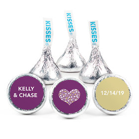 Personalized HERSHEY'S KISSES Heart of Life Wedding Favors (50 Pack)