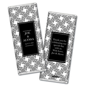 Personalized Chocolate Bar Wrappers Love Knots Wedding Favors
