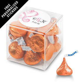 Wedding Favor Personalized Box Formal Heart (25 Pack)
