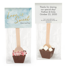 Personalized Wedding Love is Sweet Hot Chocolate Spoon