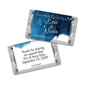 Personalized Wedding Magical Evening Hershey's Miniatures Wrappers