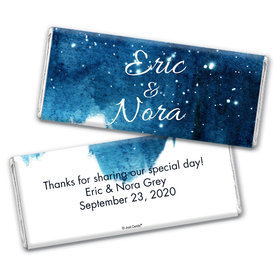Wedding Favor Personalized Chocolate Bar Wrappers Magical Evening