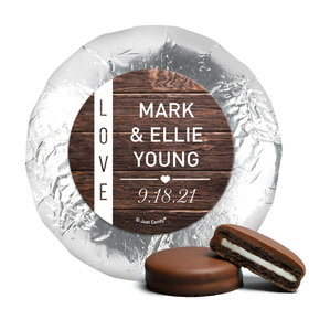 Personalized Wedding Rustic Love Chocolate Covered Oreos