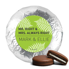 Personalized Wedding Mr. and Mrs. Right Chocolate Covered Oreos