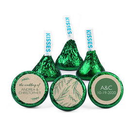 Personalized Wedding One with Nature Hershey's Kisses (50 pack)