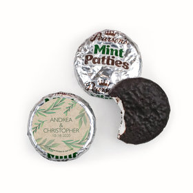 Personalized Pearson's Mint Patties - Wedding Reception One With Nature