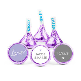 Personalized Wedding Reception Everlasting Love Hershey's Kisses (50 pack)