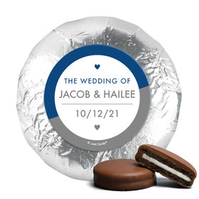 Personalized Wedding Everlasting Love Chocolate Covered Oreos (24 Pack)
